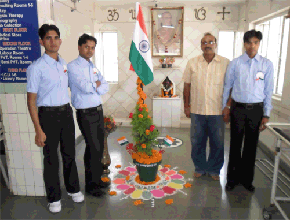 Independence Day Celebration at Satyanand Hospital